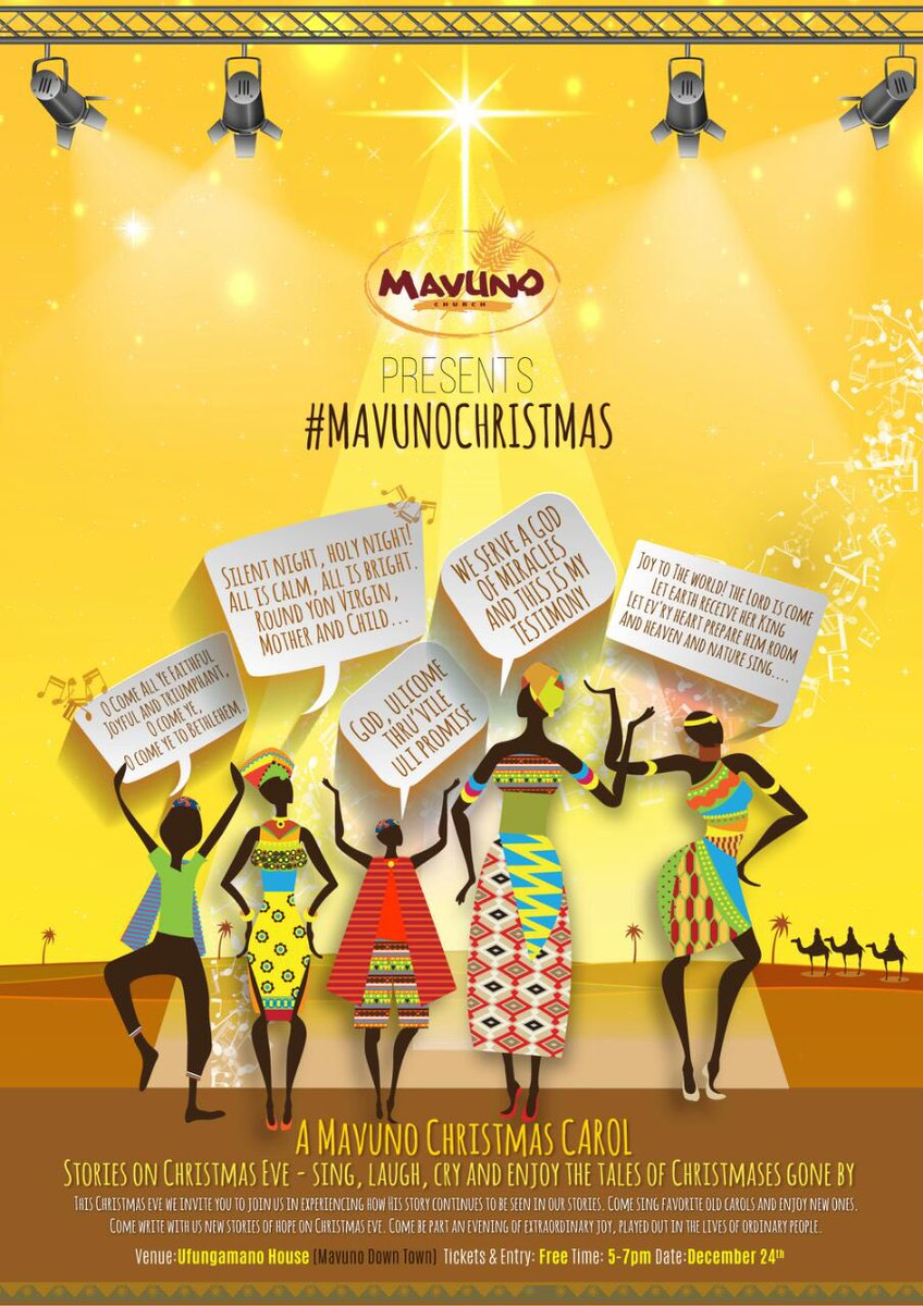 Looking for a Christmas Eve plan? #AMavunoChristmas https://t.co/wdyAYk5nT0