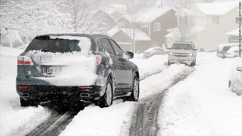 Here's why your SUV needs winter tires