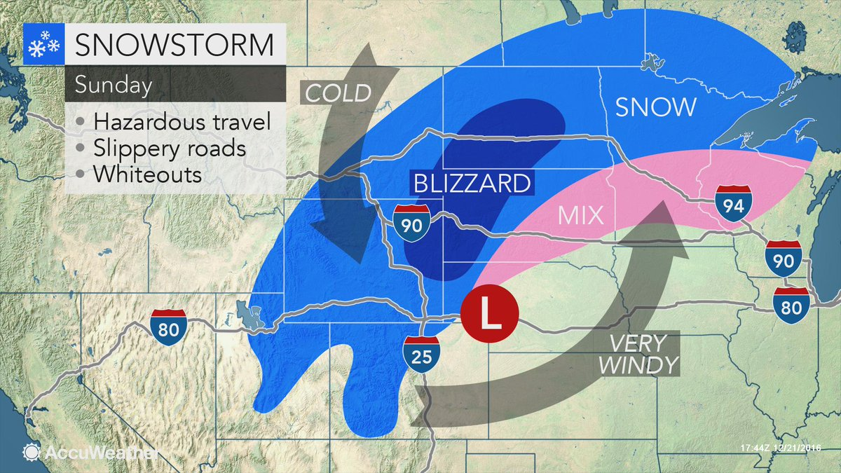 Snow Drifts Approach  Feet In Height Near Morris Minnesota As - Us weather map driving conditions
