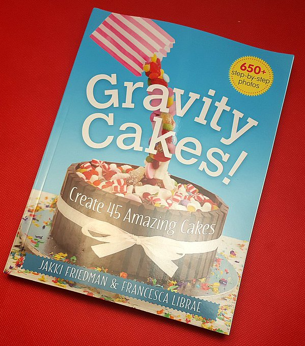 Giveaway – Gravity Cakes Recipe Book – Ends 1/12/16