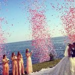 Inside the most stylish wedding of the year, which feature three gowns