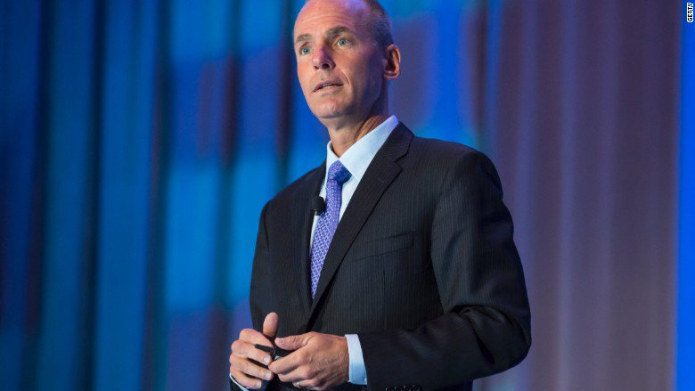 Boeing CEO vows to keep Air Force One costs below $4 billion