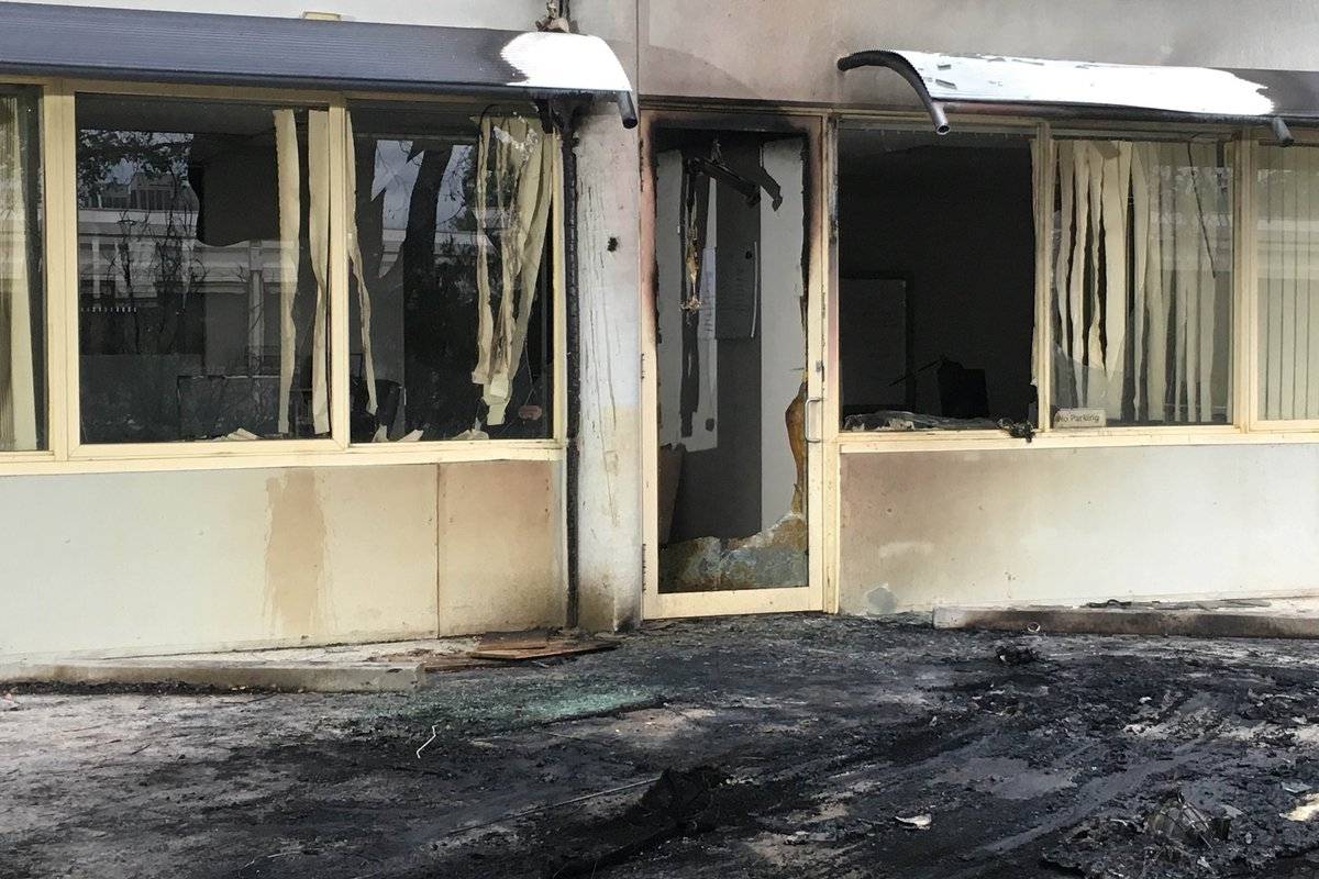"Explosion at Australian Christian group's HQ was ""not politically motivated"""
