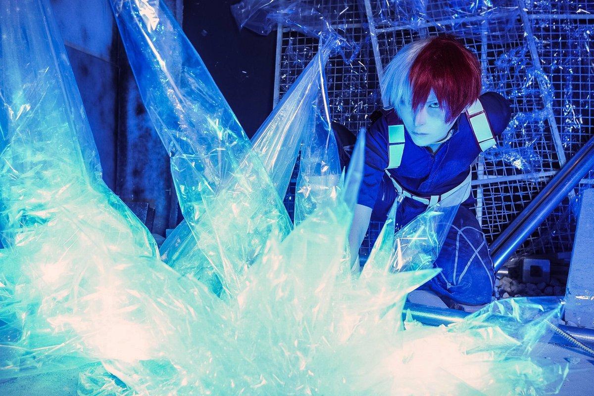 【僕のヒーローアカデミア】轟焦凍個 性 発 動 photo 壺さん()