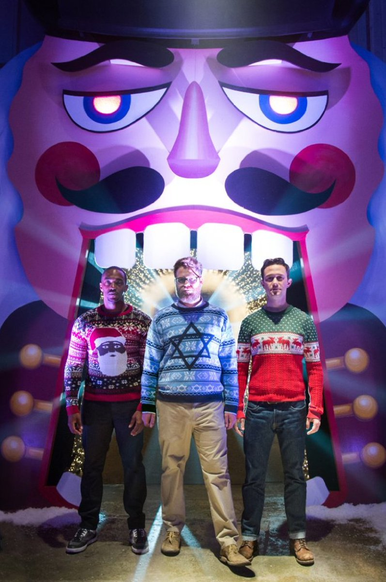 The Nutcracka Ball w/ @Sethrogen and @AnthonyMackie.. #TBT https://t.co/pdt4D5b4q4