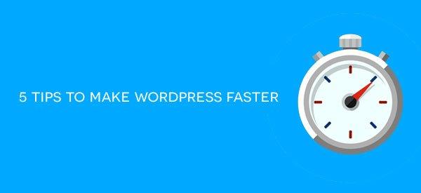 How to make WordPress faster in 5 easy steps: https://t.co/tPOQlWm1MB #WordPress #Speed #SEO #WP https://t.co/SPDS75TF0J