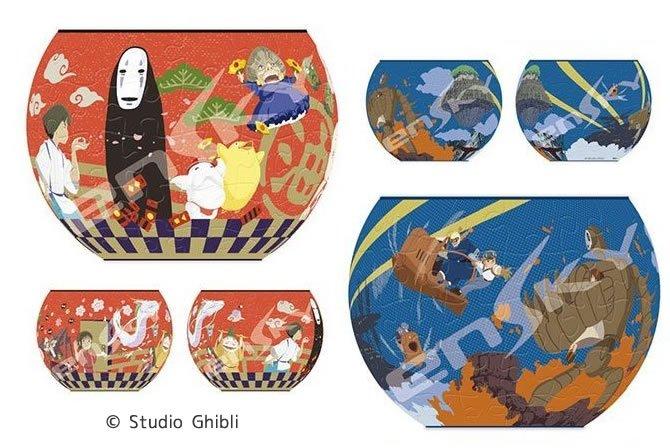 ジブリグッズから『天空の城ラピュタ』と『千と千尋の神隠し』のアートボウルジグソーが発売!