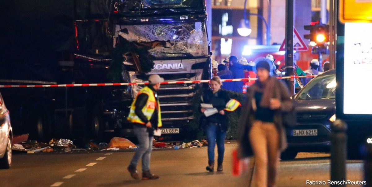 Two Americans from Texas among the injured following Christmas market attack in Berlin.