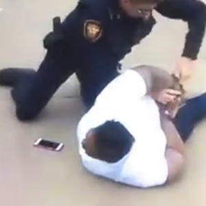 Video of Texas mother's arrest starts social media storm