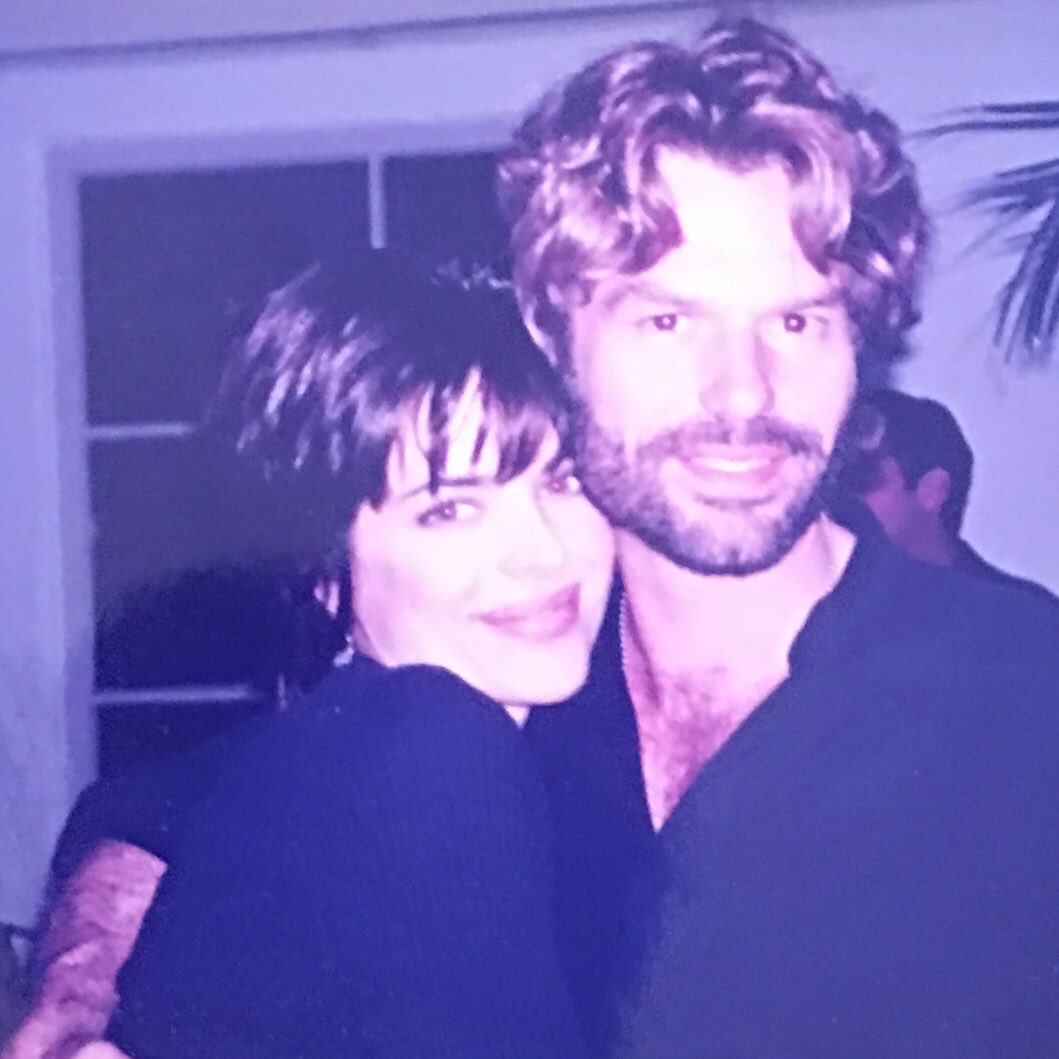 There was a request for a #tbt with Harry Hamlin and Moi. 25 years ago and still going strong! ❤ https://t.co/6y4aBmH4sv