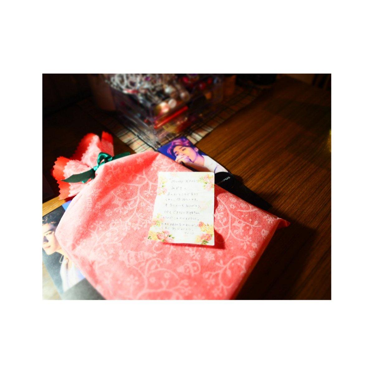 언니がクリスマスプレゼントくれた💄手紙もくれてそれみて泣けた最近すっごく涙もろい…😖大事に使います#Xmasプレゼント