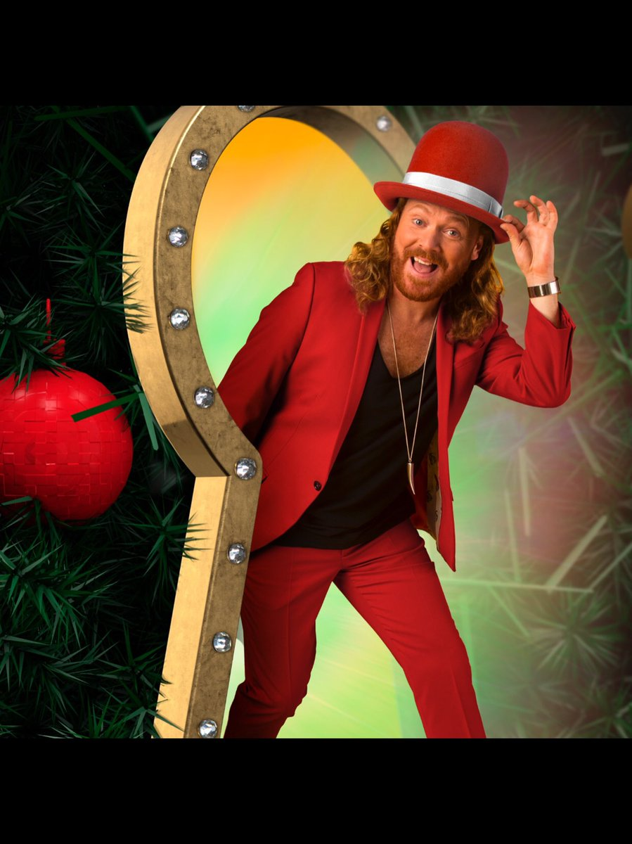RT @lemontwittor: Tomorrow night that's Christmas Eve! 10.30 @ITV #throughthekeyhole merry Keithmas! All t' best https://t.co/PCdAKgg1LR
