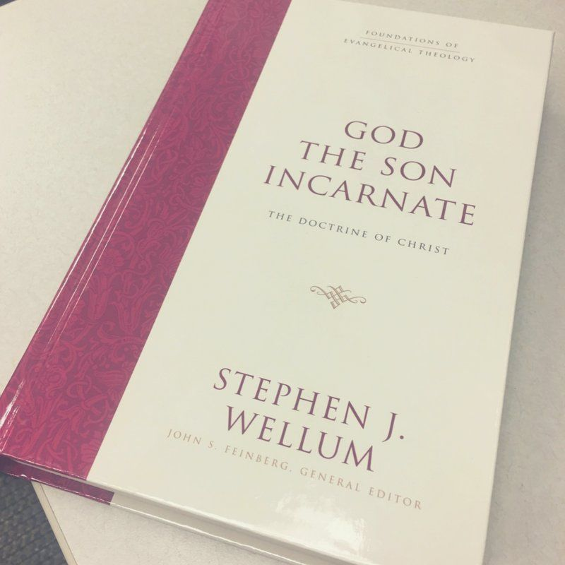 """Who's in the mood for a Christmas giveaway? RT for a chance to win """"God the Son Incarnate"""" by Stephen Wellum. https://t.co/dOvp1azLas"""
