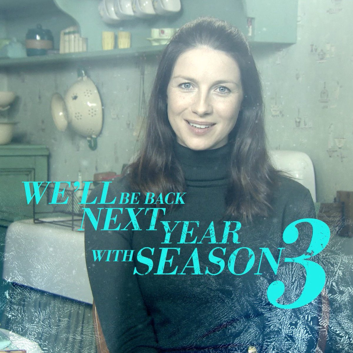 A little Christmas message from our very own @caitrionambalfe