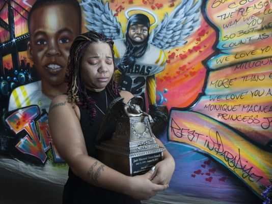 #Camden boy's #drowning offers life for others https://t.co/TzD048iTVe #Jazier #organdonor #GiftOfLife #mural
