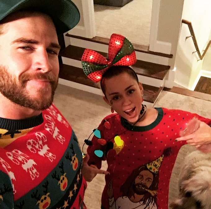Happy birthday Jesus -Liam Hemsworth on Instagram