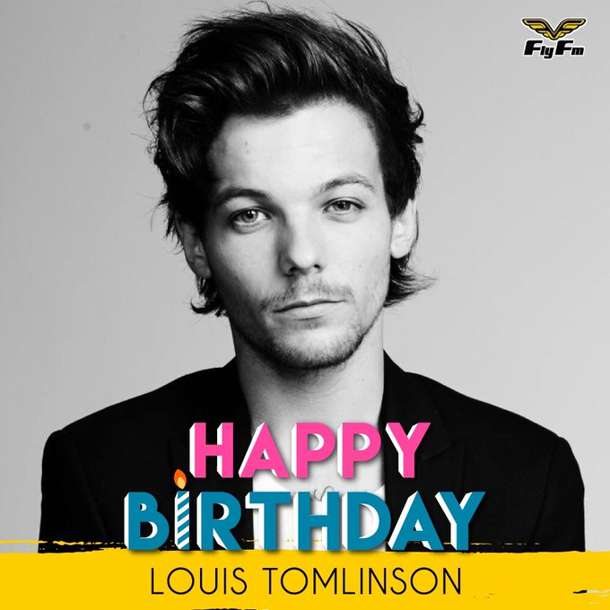 Let\s give a big HAPPY BIRTHDAY to Louis Tomlinson who turns 25 today!! Who here is his fan??