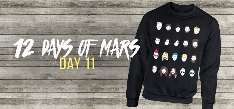 RT @MARSStore: On the 11th Day.. the #PortraitOfAMadman returns with a twist: https://t.co/x8BDCad2fg #12DaysOfMars https://t.co/0H78K6VxLL
