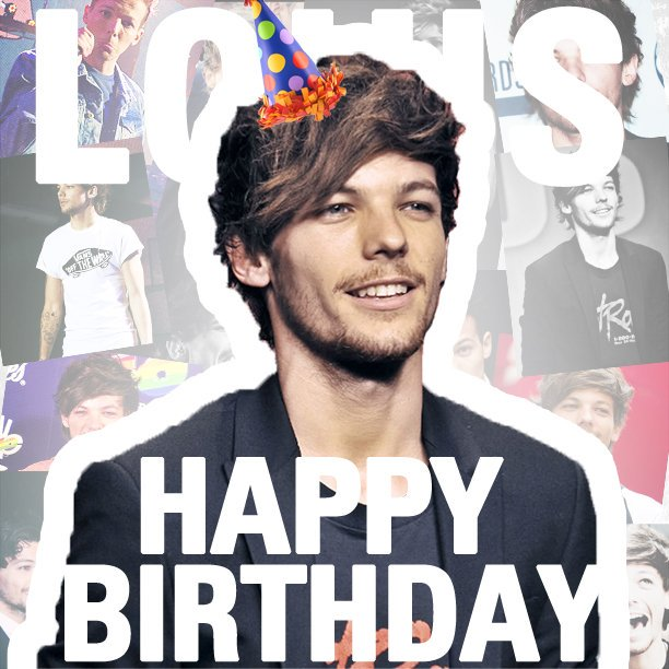 Happy birthday i\m very proud of you I love you so much Louis.