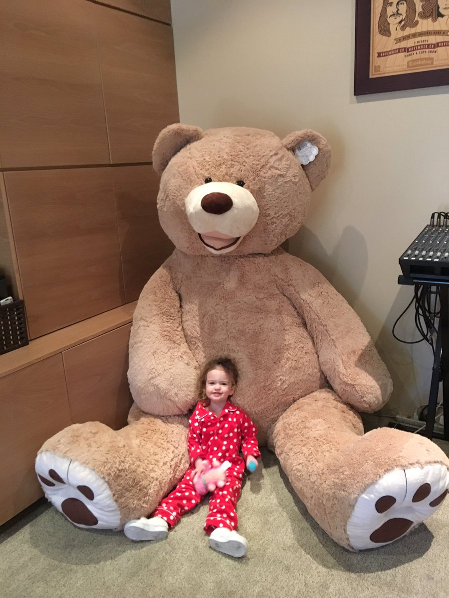 What my brother doesn't understand is that I will retaliate by sending his kids a real bear. https://t.co/WX2nO3fJbn