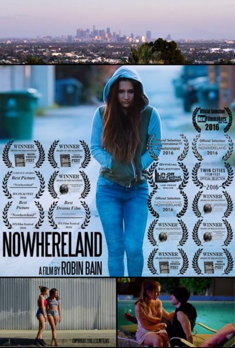 Everyone STAY TUNED because multi-award winning #indiefilm @NowherelandX is COMING in 2017! *Film By