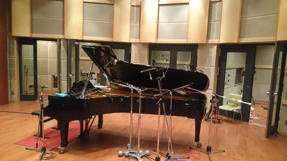 菊地成孔さんによるサンダーボルト第2シーズン音楽、jazzパート絶賛レコーディング中です!(OGP3)#g_tb