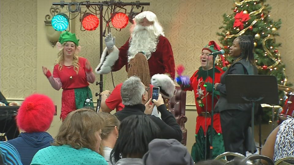 Wayside Christian Mission hosts annual Christmas Eve party