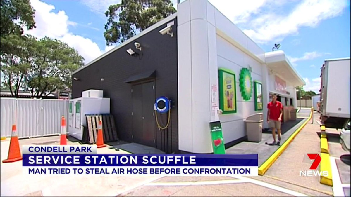 Condell Park Man Charged After Being Filmed Cutting A Hose At BP Service Station