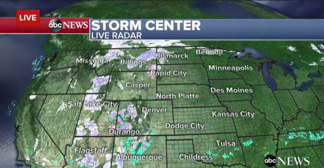LIVE RADAR: Winter storm bringing heavy snow, rain and strong winds