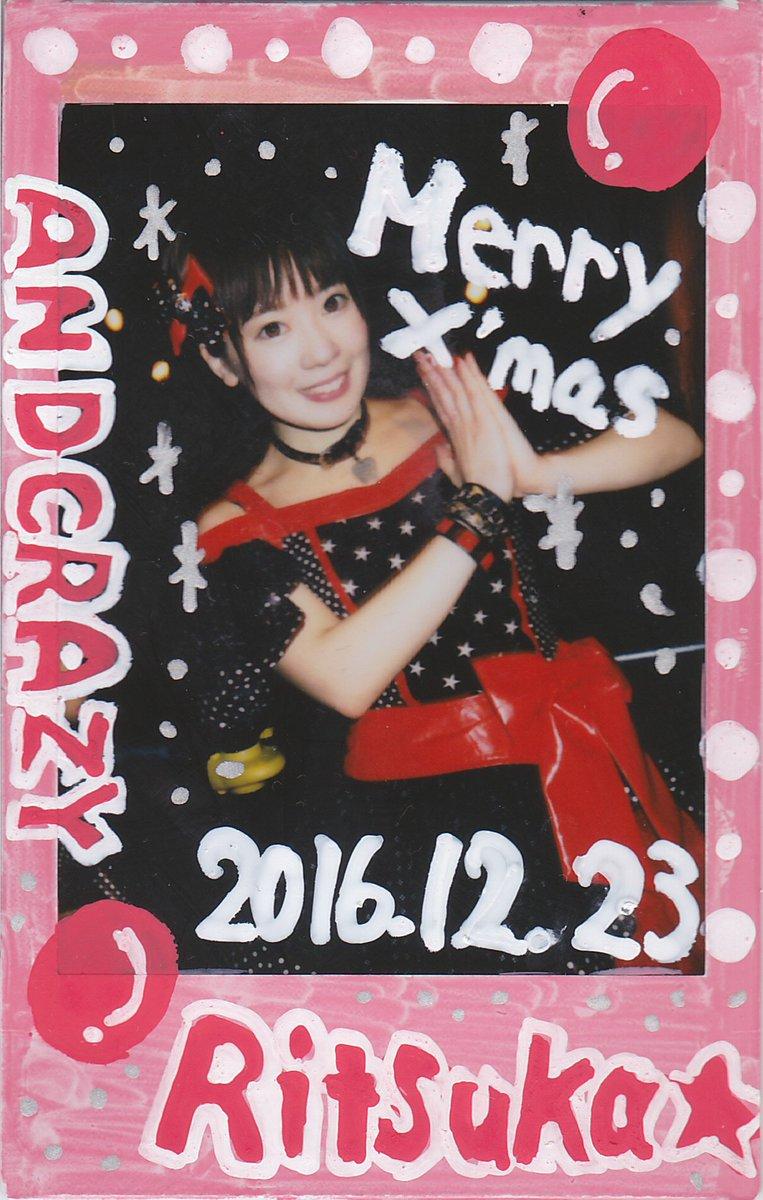 メリークリスマス★12月23日大阪おなら吾郎ラスト衣装の落書きチェキです♪いつもパワフルなライブで元気をくれてありがとね
