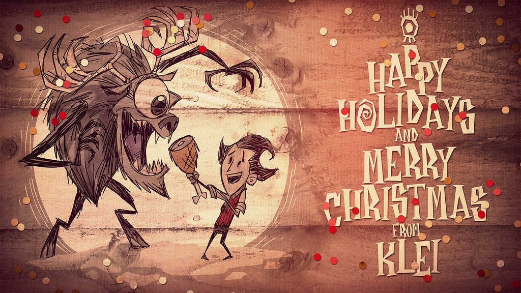 Happy holidays from our friends @klei. Eat lots of food so you... well, you know.  https://t.co/PczlSs57h3 https://t.co/J4NhvHIDkA