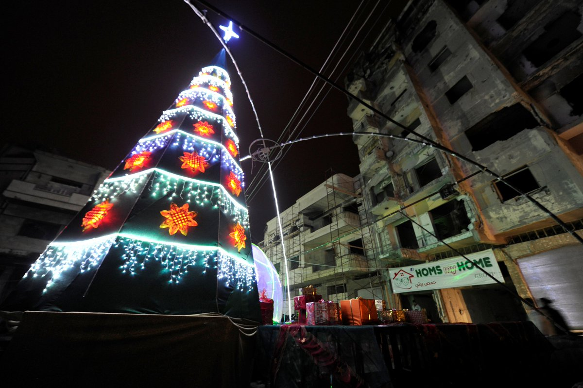Christmas in Aleppo: Celebration and hope for peace in Syria