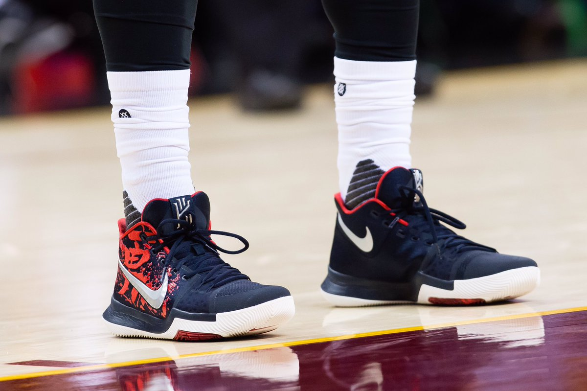Kyrie irving put away the warriors in the nike kyrie 3