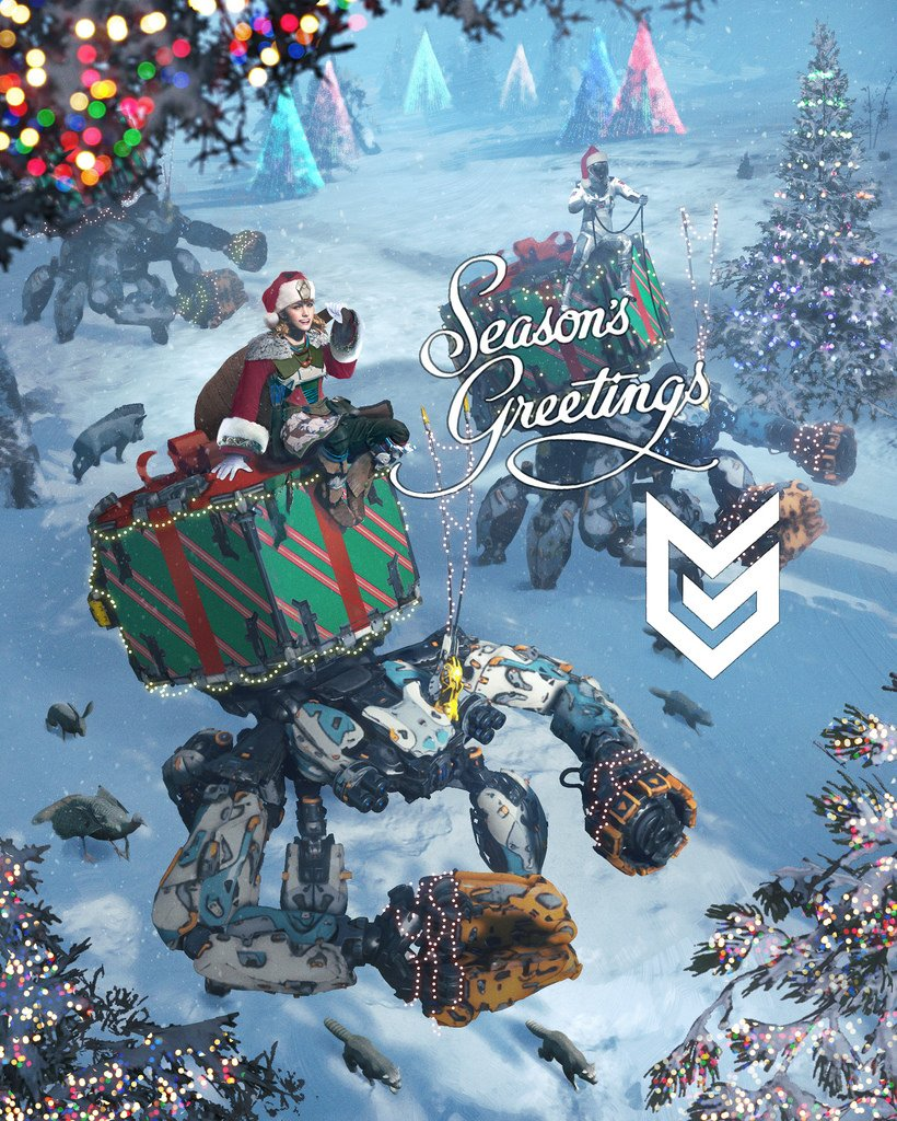 Season's greetings from the good people at @Guerrilla. Here's to bright horizons in 2017! https://t.co/6kvjZAZTAU