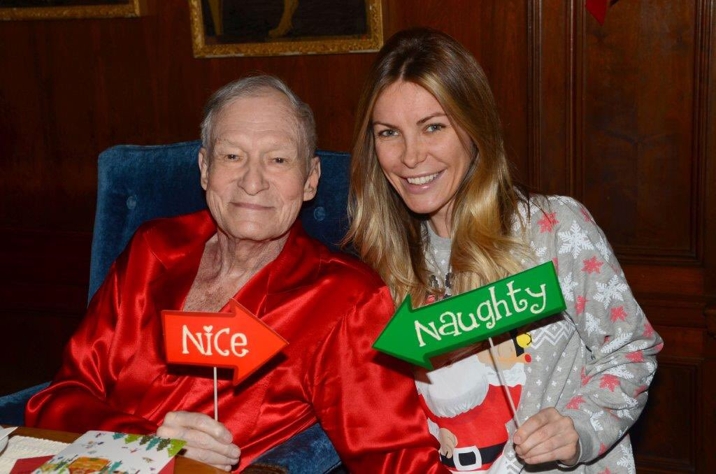 Merry Christmas from the Playboy Mansion ???????????????? Photos by Elayne Lodge https://t.co/ZEOyeF0SaU