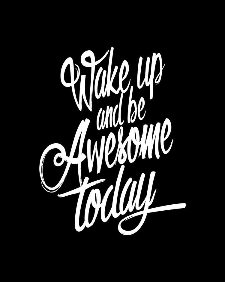 You're not here to be average, you're here to awesome! Don't wait, it starts today! #mondaymotivation