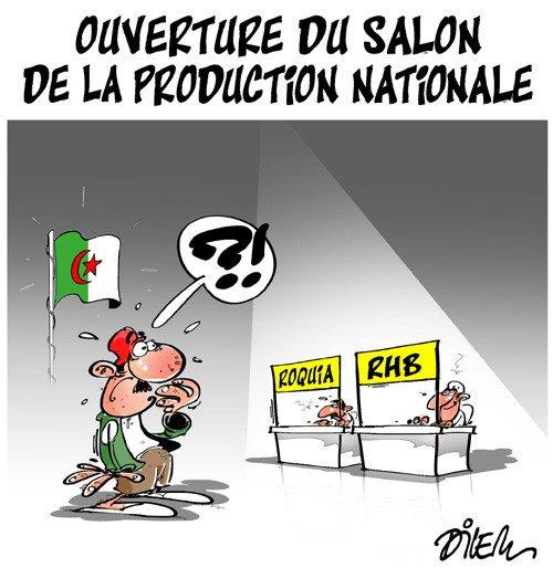 #Algérie Ouverture du salon de la production nationale https://t.co/dOcAwkWZRi