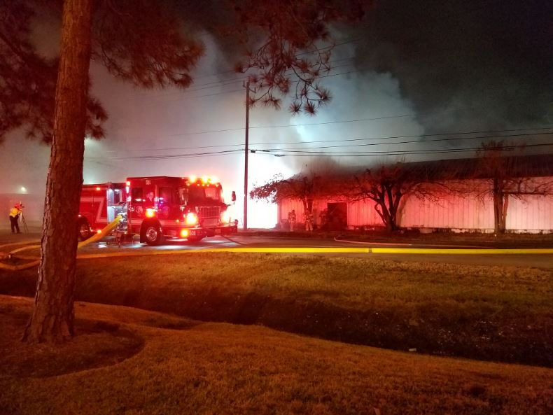 Charming #UPDATE: Firefighters Battle 2 Alarm Fire At Dickson Furniture Warehouse In  SW Houston