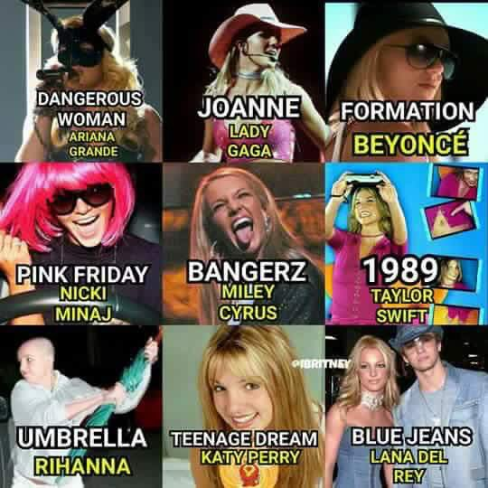 Britney made your fave famous