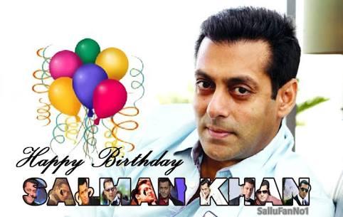 Happy birthday to you Salman Khan my shona