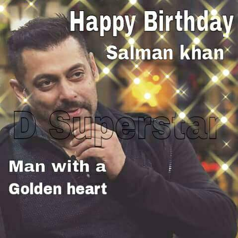 Happy Birthday to biggest superstar of Bollywood Salman Khan bhaijaan
