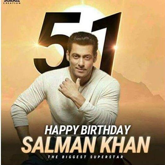 The Biggest B\DAY Of biggest  SUPER STAR Salman Khan Happy birthday Bhaijaan...