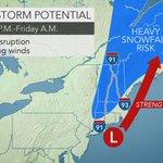 Late-week coastal storm to spread rain, snow across northeastern US