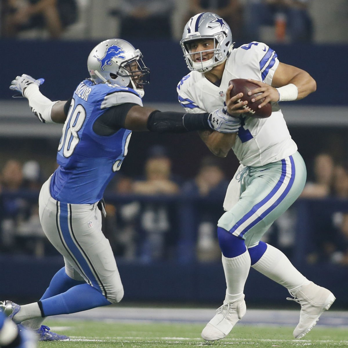 6a054c9c6 solewatch   dak actually playing in yeezy 750 cleats. - scoopnest.com