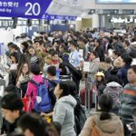 Chinese travelers clash with police in Hokkaido after flight cancelled