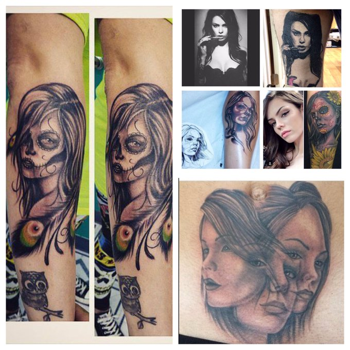 I still trip out I'm tattooed on people 😳🌟🙈😲 https://t.co/DiuM9eYe5n