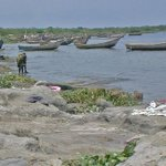 30 drown after boat carrying football team capsizes on Lake Albert, Uganda