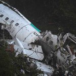 Doomed jet carrying Chapecoense football team crashed into mountains killing 71 due to 'failings caused by human error'