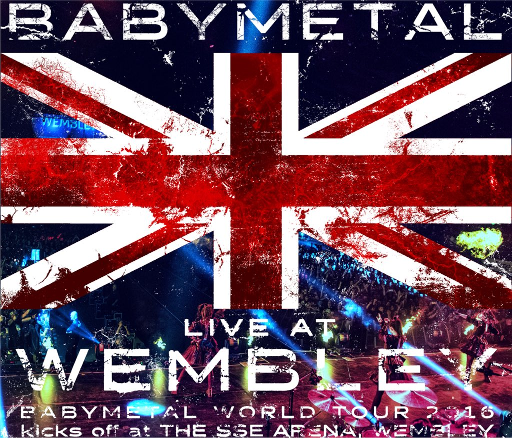 「LIVE AT WEMBLEY」CD スペシャルスリーブ仕様で12/28発売DEATH!! #BABYMETAL #Wembley #London #UK #m...