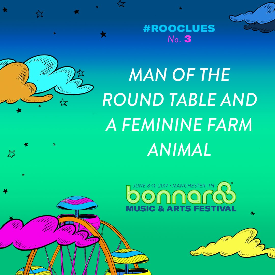 Time for more #RooClues! Check bonnaroo on snapchat for a hint from Roofus! #Bonnaroo https://t.co/6tZZdptiTI
